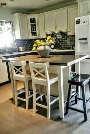 Island Chairs For Kitchen Best 25 Ikea Island Hack Ideas Only On Pinterest Ikea Hack