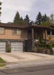 Updating Exterior Of Split Level Home - split level home exterior remodel house designs pinterest