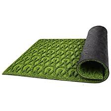 Amagabeli Wipe Your Paws Doormat Amazon Com Grass Door Mat With Smartdrain Technology Perfect