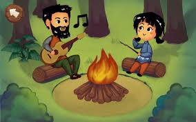 crazy outdoor camping trip vacation games android apps on