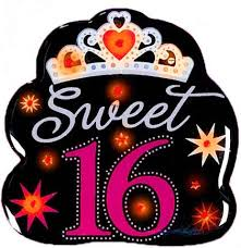 Pink And Black Sweet 16 Decorations Sweet 16 Light Up Button Sweet 16 Party Button Sweet 16 Party