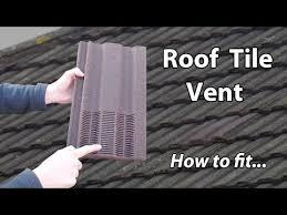extractor fan roof vent roof ventilation tile bathroom exhaust vent extractor youtube