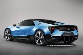 honda supercar concept honda u0027s baby nsx could debut as early as november