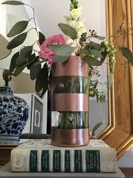 Striped Vase Diy Striped Vase Southern State Of Mind