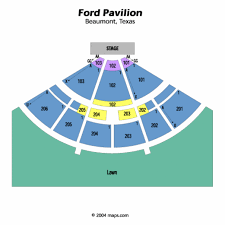 ford park beaumont ford pavilion tx seating chart ford pavilion tx tickets ford