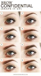 How To Tweeze Your Eyebrows 16 Eyebrow Diagrams That Will Explain Everything To You