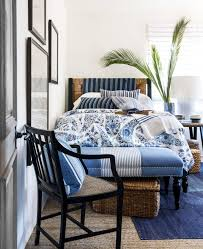 Blue Bed Frame 25 Best Blue Rooms Decorating Ideas For Blue Walls And Home Decor