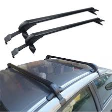 2005 Toyota Corolla Roof Rack by Roof Rack No Rails Cross Bar Clamp W Anti Theft Lock For Toyota
