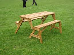 bench best gorgeous folding picnic table and throughout combo plan