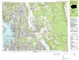 Maps Redmond Redmond Topographic Map Wa Usgs Topo Quad 47122f1