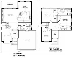 floor plans and elevations of houses canadian home designs custom house plans stock house plans