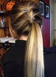 ponytail hairstyles for various styles of trendy latest ponytail hairstyles for girls
