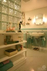 the hard way award vintage bathroom blue