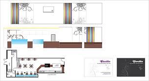 Ice Cream Shop Floor Plan Retail Mark Vanilla Wilmslow Road Interior Design Brand
