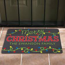Fun Doormat Personalized Christmas Doormats At Personal Creations