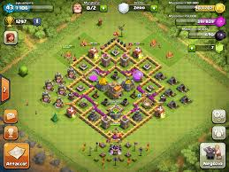 clash of clans town hall 8 war base 1 anti air clash of clans