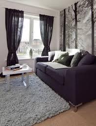canap bleu gris sols et tapis tapis salon moderne gris canapé bleu foncé tapis de
