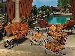 Mexican Patio Decor Wrought Iron U0026 Steel Patio Furniture In Okc U0026 Edmond Swanson U0027s
