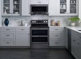 stainless steel kitchen ideas samsung releases all black stainless steel kitchen appliances