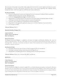Testing Tools Resume Pega Resume
