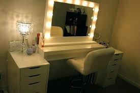 Cheap Makeup Vanities For Sale Vanities Homemade Vanity Mirror With Lights And Table Cheap