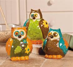 Owl Canisters For The Kitchen Christmas Home Decorations Ideas For This Year Decoration 18