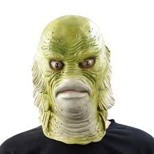 the halloween party from the black lagoon compare prices on fish mask online shopping buy low price fish