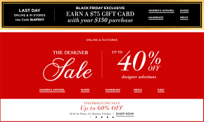 black friday 2017 save up to 60 and earn a 75 gift card with a