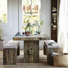 good dining table ideas with clear glass vase centerpiece topup
