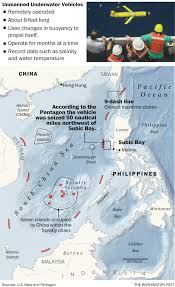 Map Of South China Sea by Pentagon Chinese Naval Ship Seized An Unmanned U S Underwater