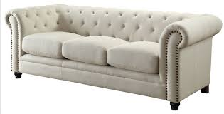 traditional sofa roy traditional oatmeal linen blend sofa quality furniture at