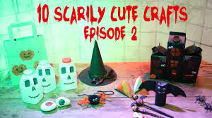 10 halloween diys cute u0026 easy crafts episode 2 youtube