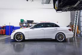 lowered mercedes w212 white renntech tuned 2014 w212 mercedes e63 amg s