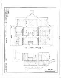 Historic Plantation House Plans Floor Plans The Shadows Plantation Weeks Halls House Mansion New