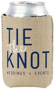personalized koozies for wedding burlap neoprene koozies with custom imprint great for weddings