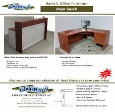 Office Desks Sale Extended Corner Desk Sale Toronto Reception Desk Sale Toronto
