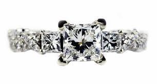 unique princess cut engagement rings beautiful engagement rings ideas styles designs classics
