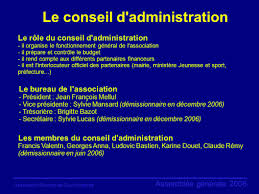 association bureau conseil d administration association sportive de courdimanche bienvenue à l assemblée