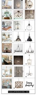 Farmhouse Ceiling Light Fixtures Favorite Light Fixtures For Fixer Style The House