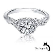 halo engagement ring settings only find or design your engagement ring