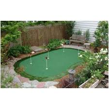 Small Backyard Putting Green Backyards Enchanting Backyard Putting Greens Cost Modern