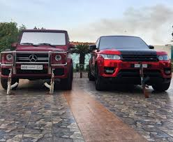 maroon range rover range rover red