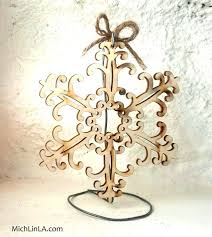 ornament holder 2 minute rustic wire ornament stand hometalk