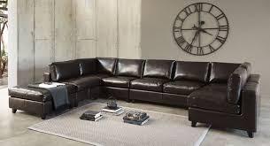canapé cuir 7 places canapé d angle en cuir noir marron blanc tous formats notre top