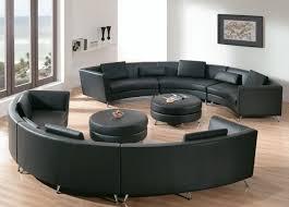 Curved Sofa Designs by Circular Leather Sofa Centerfieldbar Com