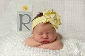 baby flower headbands baby flower headband lemonade couture