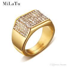 men marriage rings images Wholesale milatu luxury wedding rings for men gold color jpg