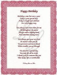 best 25 birthday poems ideas on pinterest inspirational
