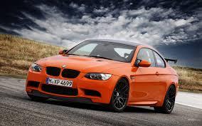 orange sports cars bmw m3 gts customity