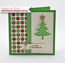 splotch design independent stampin u0027 up demonstrator christmas